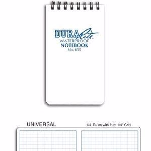 Notebook No 635 Waterproof DuraRite