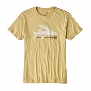 Patagonia Men's Flying Fish Organic Cotton T-Shirt